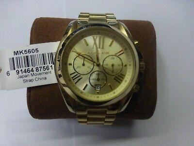 Michael Kors Mid-Size Bradshaw Chronograph MK5605 Women's Wrist Watch