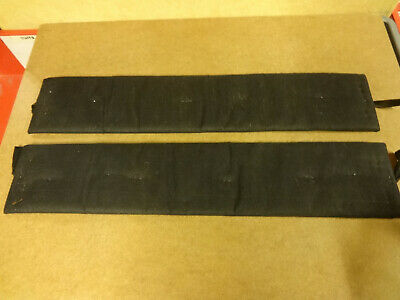 2 REPLACEMENT FRONT PARTS FOR SPEAKER B&W DM 70 / 702 NEW FROM OLD STOCK