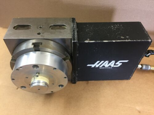 """HAAS ROTARY TABLE WITH SERVO CONTROL 120 VOLT  6"""" PLATTER"""