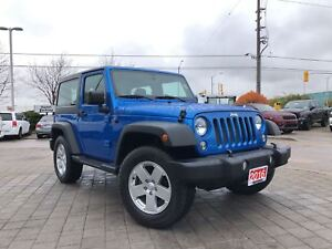 2016 Jeep Wrangler SPORT**TRAILER TOW GROUP**HARD TOP**