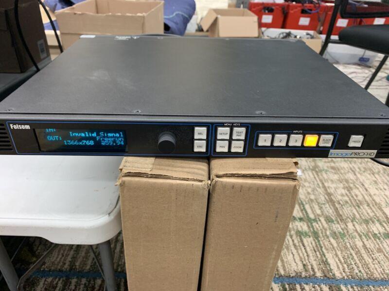 Barco Folsom ImagePro HD Multi-Format Signal Processor Switcher Pro