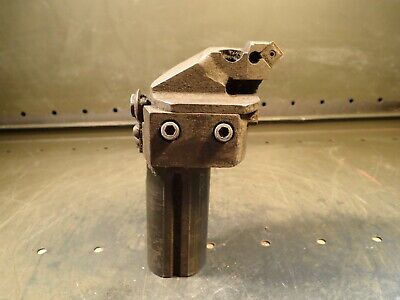 Indexable Carbide Offset Boring Head 4-58 Minimum Bore 2 Straight Shank Used