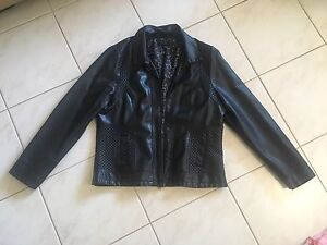 Leather looking Jacket Size 18 Yokine Stirling Area Preview