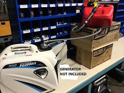 Pulsar Pg2000is Inverter Generator 6 Gallon Extended Run Fuel System New