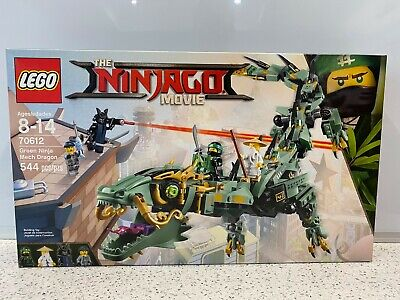 LEGO The LEGO Ninjago Movie Green Ninja Mech Dragon (70612) NEW, Sealed NIB