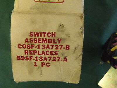 1959 1960 NOS Ford T-Bird Convertible Retractable Top Switch B9SF-13A727-Awit