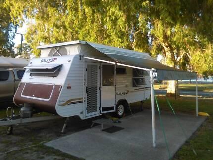 2005 Galaxy Southern Cross Series 3 Poptop Caravan