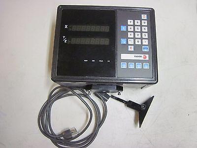 100 Warranty Fagor Vnk-200 Vnk200 Dro Two Axis Display Control Panel