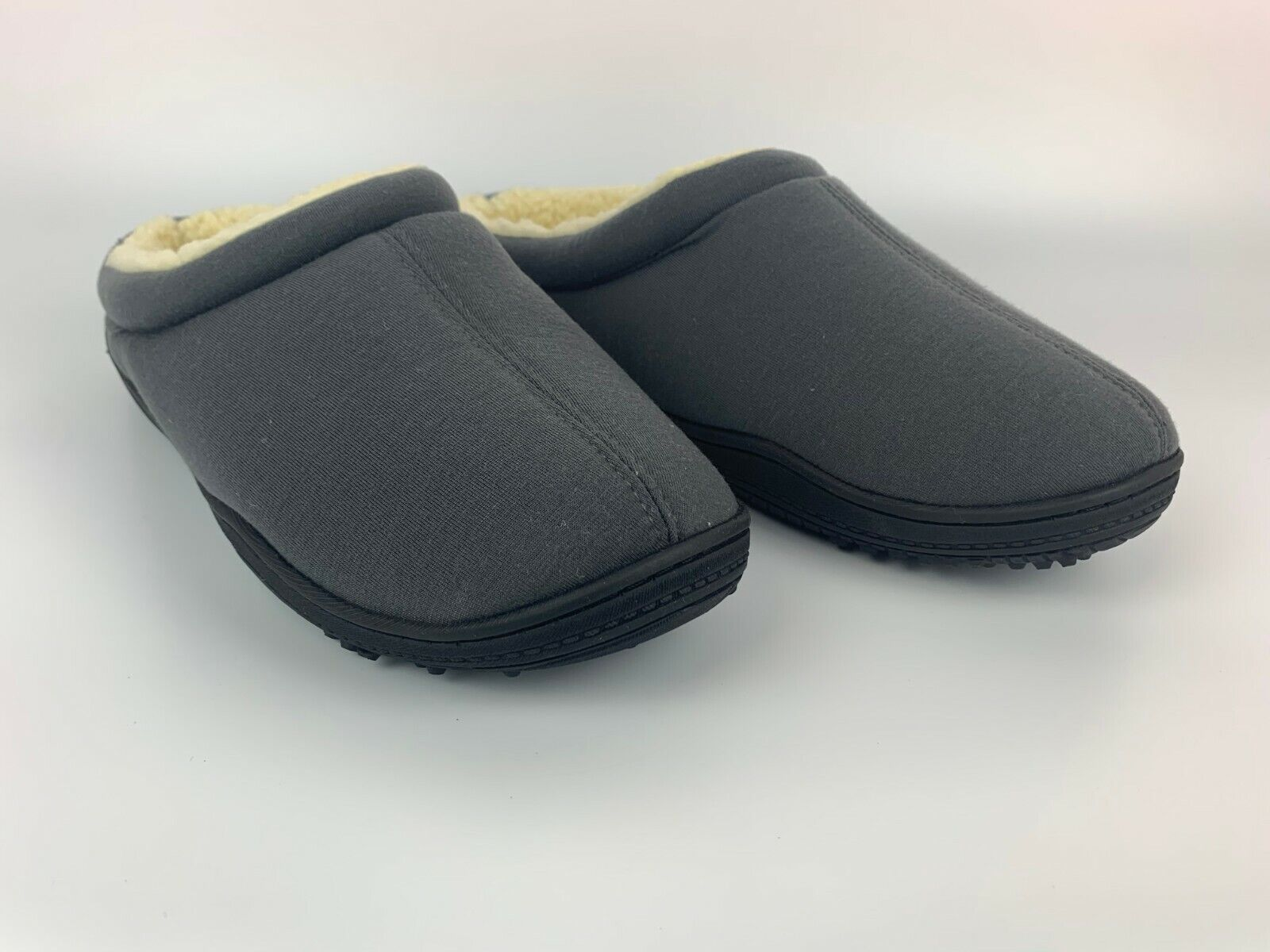 Men's Memory Foam Slippers Wool-Like Comfortable Home House
