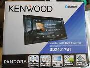 Kenwood Double Din Head Unit - DVD Bluetooth DDX4017BT Sydney City Inner Sydney Preview