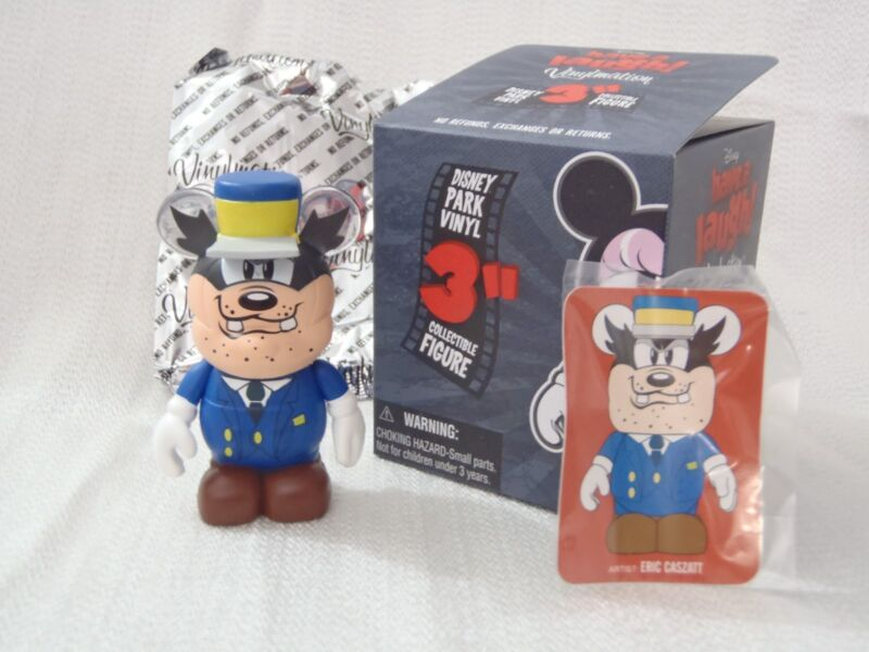 Disney Vinylmation Have A Laugh CONDUCTOR PETE CHASER Mr Mouse Takes Trip Figure