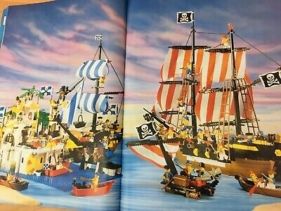 Vintage Lego 260 Space Pirate Castle Robin Hood Town - Instruction Manual Only