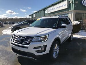 2016 Ford Explorer Limited CERTIFIED LOW KMS/NAV/LEATHER/MOON...