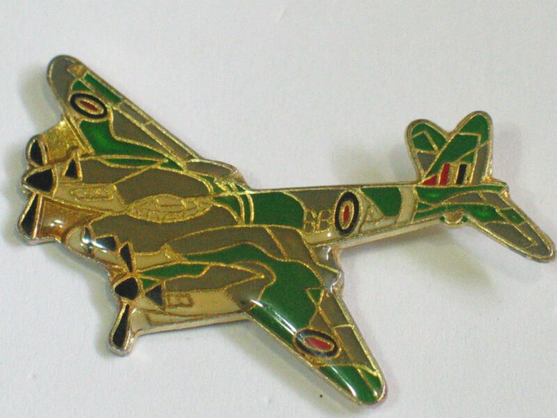 Mosquito Aircraft Pin, British Aerospace Canberra Military Aircraft, Hat tack