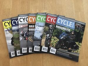 Cycle Canada Magazines (7) - Mint Condition