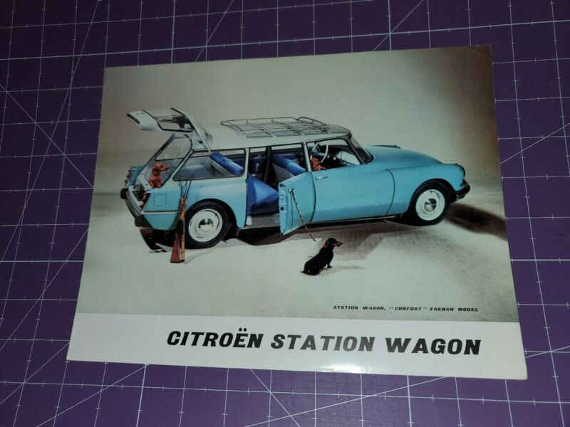 1960 ? Citroën station wagon  brochure