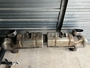 2001-2005 porsche 911 996 turbo OEM exhaust