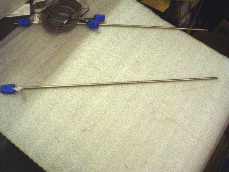 "Watlow ACJA00F240T000 thermocouple probe 24"" w/cable Type T - 60 day warranty"