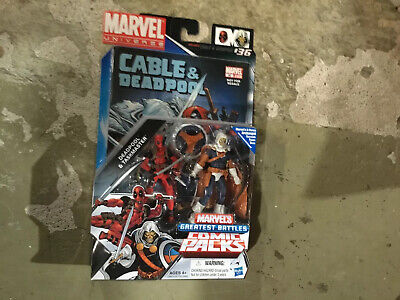 Marvel Universe 3.75 Action Figure Comic 2 Pack Taskmaster & Deadpool