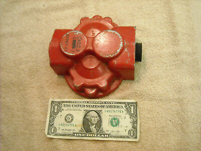 Nos Cover For Cessna 24500 Hydraulic Pump Also John Deere Pn At39025