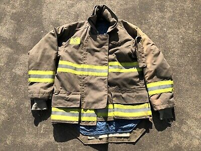Morning Pride Fire Fighter Turnout Jacket 44 2935 34 Bunker Gear 2773