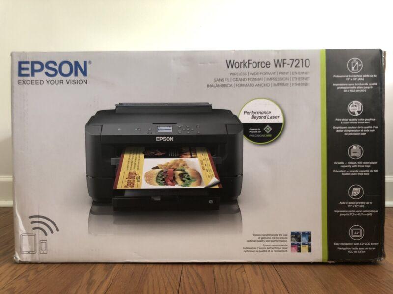 New Epson WorkForce WF-7210 Wireless Wide Format Printer(FREE NEXT DAY SHIPPING)