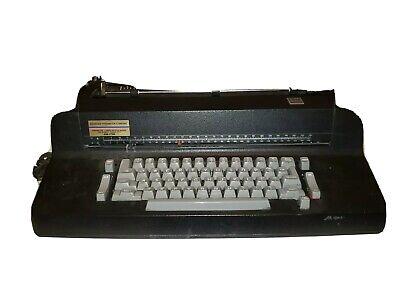 Vintage Ibm Selectric Ii Correcting Electric Black Typewriter Rare Near Perfect