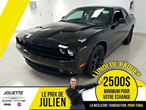 2018 Dodge Challenger SXT PLUS, BLACK TOP, CUIR, TOIT!