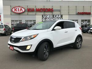 2013 Kia Sportage SUNROOF, LEATHER, POWER DRIVER SEAT,