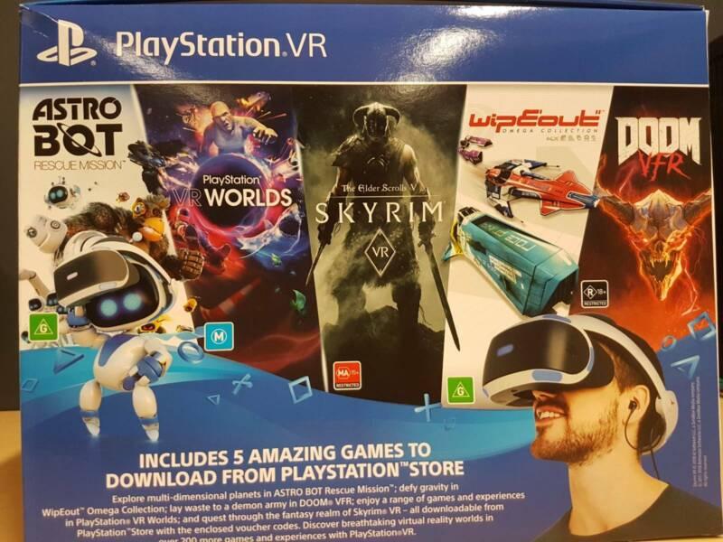 PlayStation VR Mega Bundle (PS VR 5 Games) | Playstation