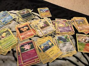 Roughly 200 Duplicate Pokemon Cards