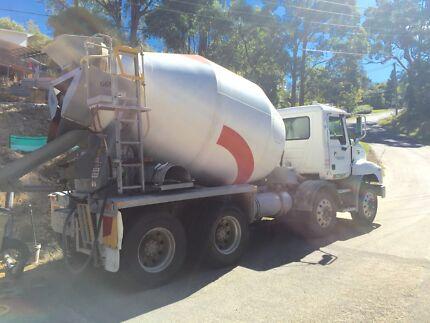 Concrete truck Oxenford Gold Coast North Preview