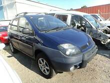 WRECKING / DISMANTLING 2001 RENAULT SCENIC RX4 2.0L 5 SP MANUAL North St Marys Penrith Area Preview
