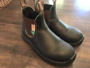Blundstone Ladies Safety Steel Toe Boots
