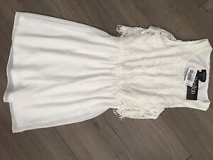 White summer dress, new with tags