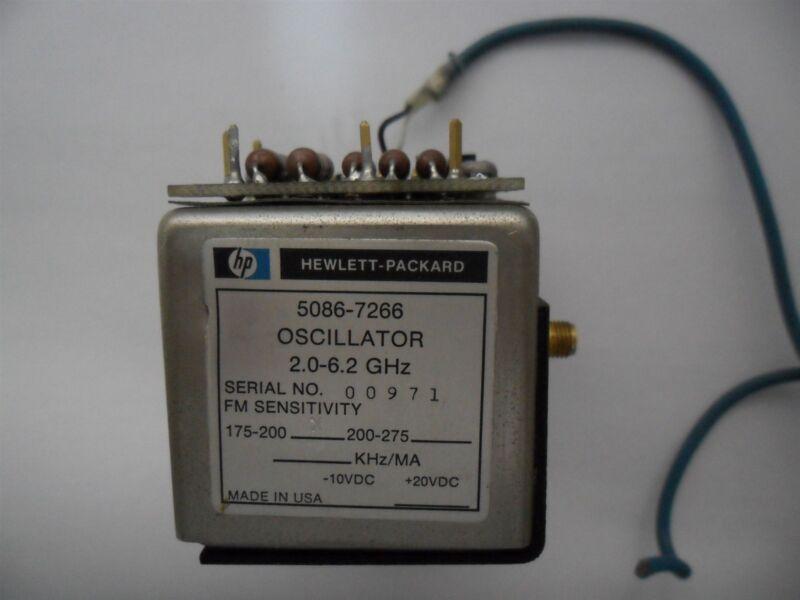 HP Agilent 5086-7266 Oscillator High Stability 2-6.2GHz RF Microwave