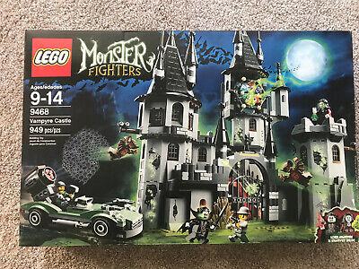 Lego Monster Fighters Set #9468 Vampyre Castle New