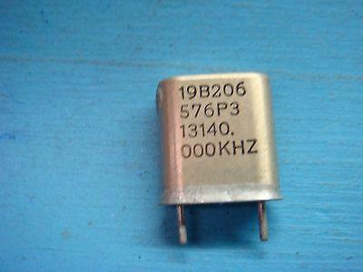 1 Ge 19b206576p3 13140.000khz Vhf Lo-band Crystal Oscillator Vintage Audio