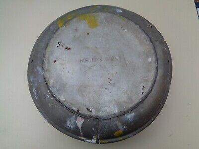 Aluminium 10 gallon Milk Churn LID circa 1960`s DAMAGED Horlicks Dairies L16
