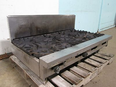Vulcan Heavy Duty Commercial Natural Gas Counter-top 8 Burner Stoverange