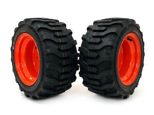 (2) Kubota Wheel & Tire Assemblies 18x8.50-10 Fits BX2350D BX2360 BX2370 BX2380