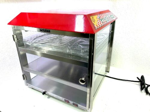 Tomlinson 1023226 Fusion Commercial Pizza and Snack Merchandiser
