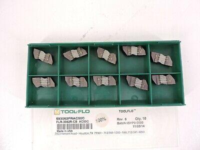 Tool-flo Flr-3062r-cb Ac50c 593062prac50c 10 Pack Inserts New