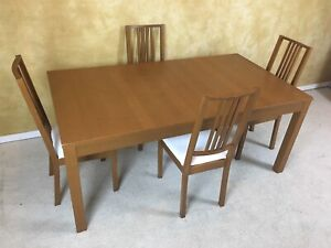 IKEA BJURSTA DINING SET FOR $200! DELIVERY AVAILABLE!