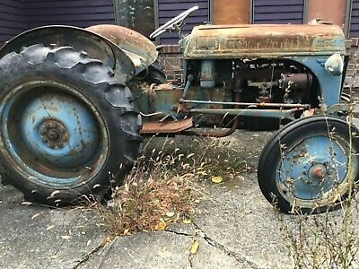1947 Ford 8n Working Tractor