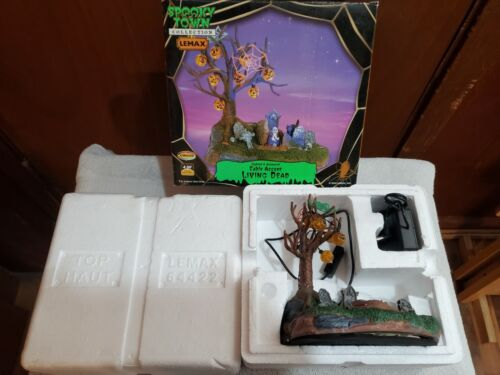 Lemax Spooky Town Living Dead Animated Table Top Accent 2006 Retired 64422!!