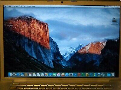 "Apple MacBook Pro 15"" A1226 C2D 2.4GHz 2GB RAM 200GB GeForce 8600M GT El Capitan"