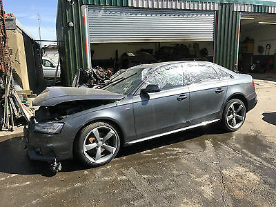 AUDI A4 S LINE 2014 MODEL BREAKING ALL PARTS 20L DIESEL MANUAL  BUISNESS CARD