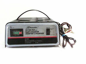 schumacher 10 amp fully automatic manual deep cycle charger