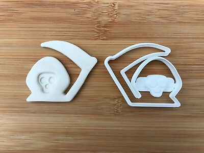 Halloween Uk Seller Plastic Biscuit Cookie Cutter Fondant Cake Decor THE DEATH